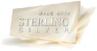 Серьги покрытые серебром