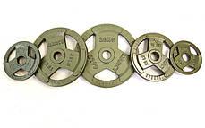 Блины стальные с хватом 5кг (диам. 52мм), фото 3