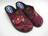 Домашние женские тапочки на каблуке ТМ Inblu, фото 1