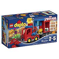 Конструктор Лего Дупло 10608 Приключения на грузовике Человека Паука/LEGO DUPLO Spider-Man Spider Truck Advent