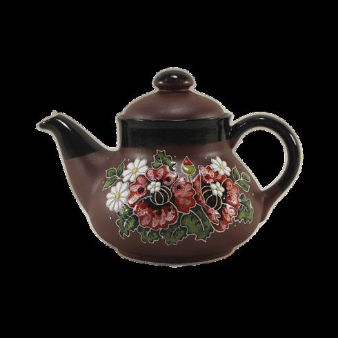 """Чайник керамический """"Маки"""""""