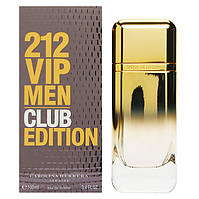 Туалетная вода Carolina Herrera 212 VIP Men Club Edition (edt 100 ml)  РЕПЛИКА