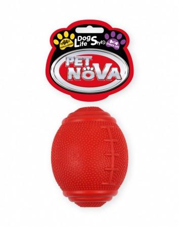 Іграшка для собак М'яч регбі Pet Nova 8 см