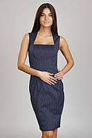 Платье-футляр из котона П125