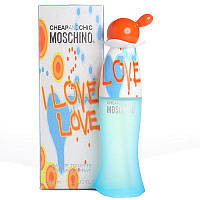 Туалетная вода Moschino Cheap and Chic I Love Love (edt 100ml) РЕПЛИКА