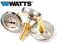 "Термометр WATTS TB-63/50 с гильзой 1/2"" (63мм, 0-120°С)"