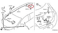 Nissan Leaf Антена