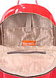 Рюкзак женский POOLPARTY Mini красный лак, фото 4