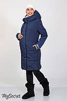 Теплое зимнее пальто Angie для беременных, синее