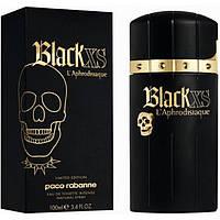 Туалетная вода Paco Rabanne Black XS L'Aphrodisiaque limited edition (edt 100ml) РЕПЛИКА