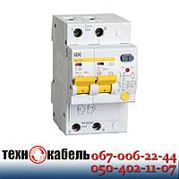 Дифференциальный автомат IEK АД12М 2Р 30 мА