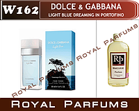 Dolce & Gabbana «Light Blue Dreaming in Portofino» (Лайт Блю Дримин Портоф№162   (флакон на 35мл,50мл,100мл,20