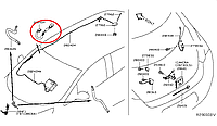 Nissan Leaf фідер антена