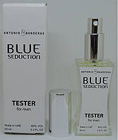 Тестер Antonio Banderas Blue Seduction (edp 60ml) РЕПЛИКА