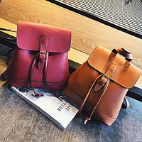 Модный мини рюкзак с ремешком