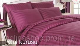 """Комплект постельного белья ALTINBASAK Сатин Deluxe """"Gul"""" kurusu Евро"""