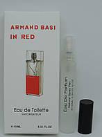 Мини-парфюм Armand Basi In Red (10 мл)