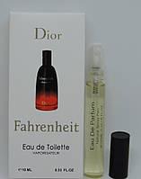 Мини-парфюм Christian Dior Fahrenheit (10 мл) РЕПЛИКА