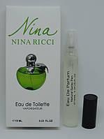 Мини-парфюм Nina Ricci Nina Plain Green Apple (10 мл) РЕПЛИКА