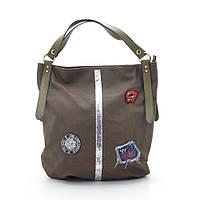 Женская сумка Baliford L7056 tan/green