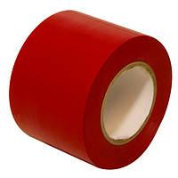 Универсальная изоляционная лента ПВХ — красная 50 мм x 20 м
