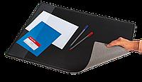 Подкладка для письма c карманом, черный (652x512мм, PVC)