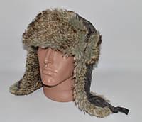 Тёплая шапка ушанка в камуфляже. (58-59 р-р) Next