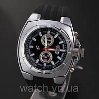 Стильные мужские часы V6 Silver, фото 1