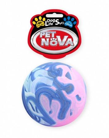 Іграшка для собак М'яч різнобарвний Saturn Pet Nova 7 см (L)