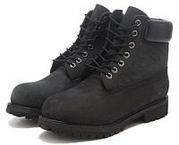 Ботинки мужские зимние Timberland 6 с мехом, ботинки зимние тимберленд черные