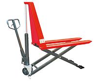 Ручные гидравлические тележки ножничного типа Skiper SJ7 Profi, г/п 1000 кг, высота подъема 800 мм