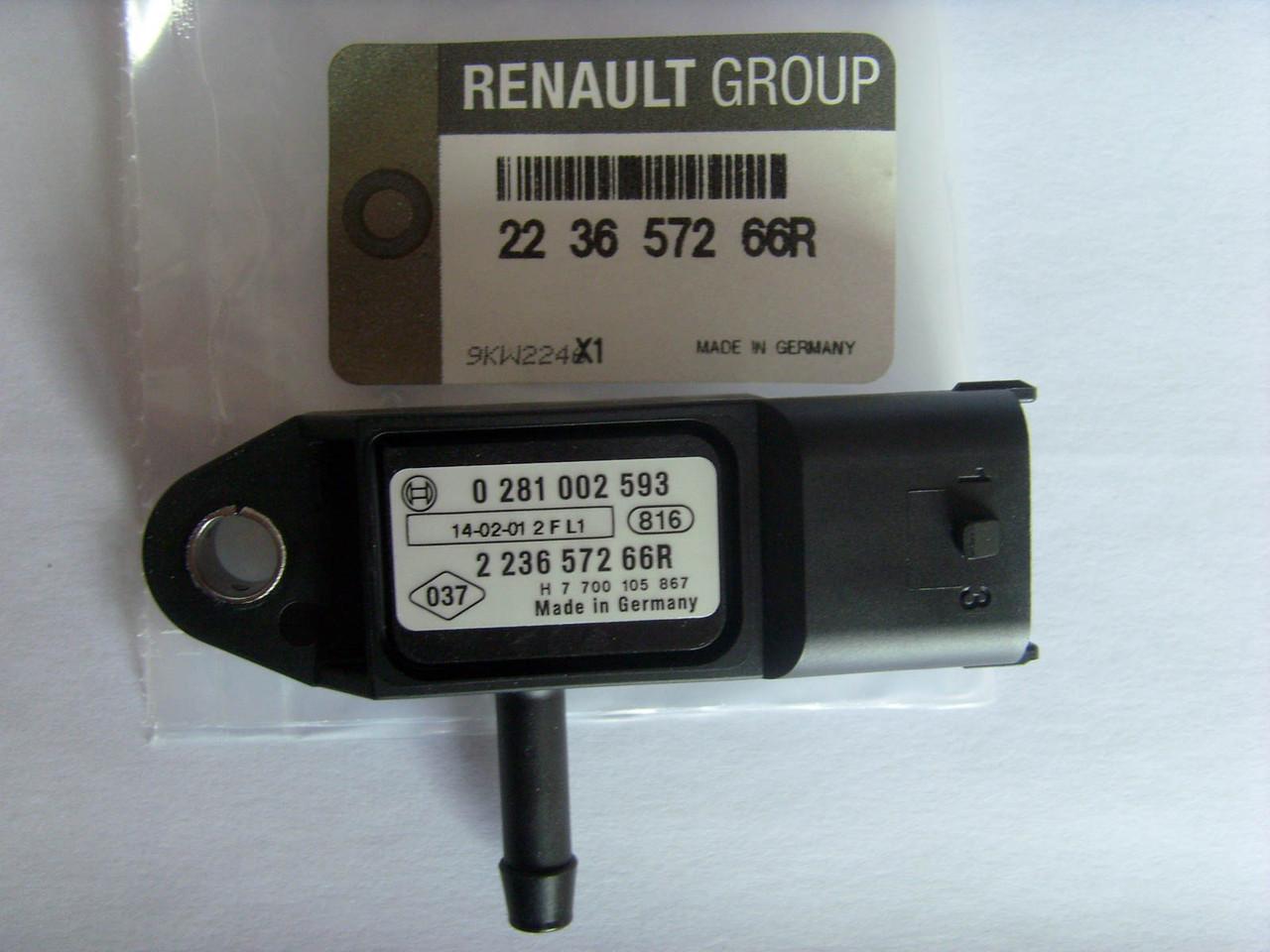 Датчик давления наддува Trafic 1.9dCi 01-/Kangoo 1.5dCi 01-