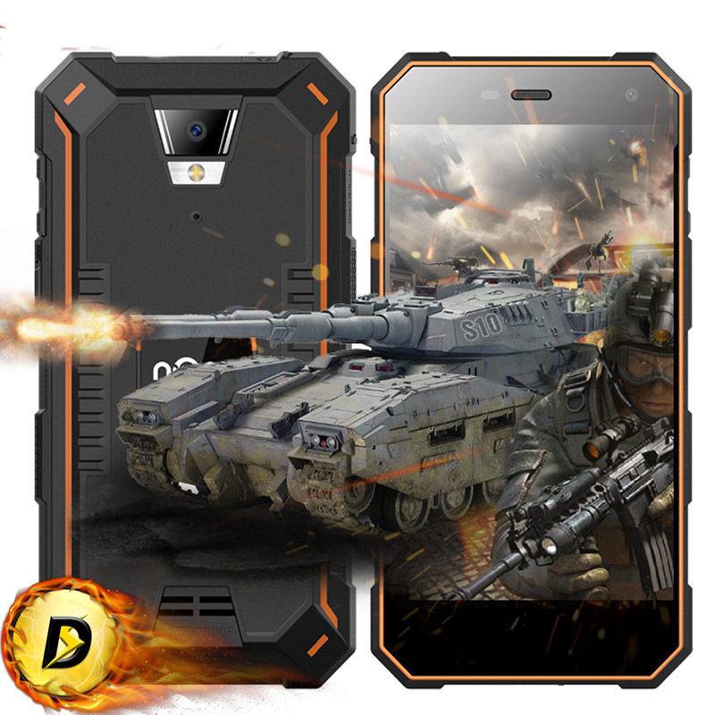 Защищенный смартфон Nomu S10 pro Orange 3gb\32gb,ip68, Android 6.0,5000 mah