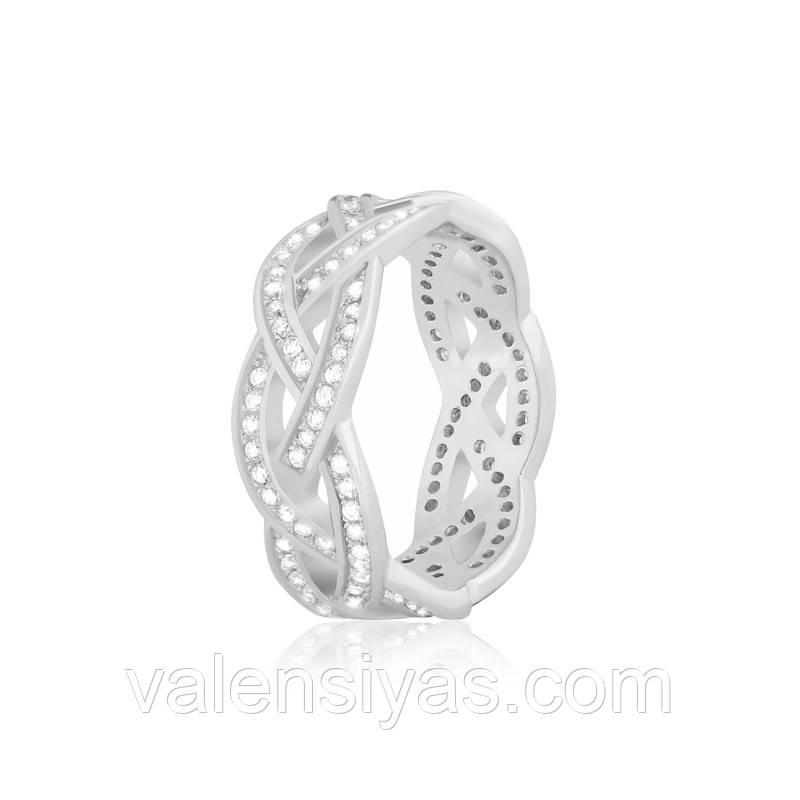 """Серебряное кольцо в стиле """"Tiffany"""" К2Ф/280"""