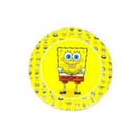 Тарелка праздничная десертная Спанч Боб