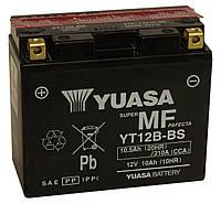 Аккумулятор сухозаряженный AGM YUASA YT12B-BS