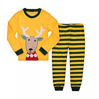 Пижама для детей Рождественский олененок