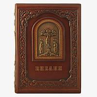 Книга в кожаном переплете Privilege Библия с гравюрами Гюстава Доре