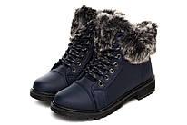 Ботинки женские Collection paris winter navy 37