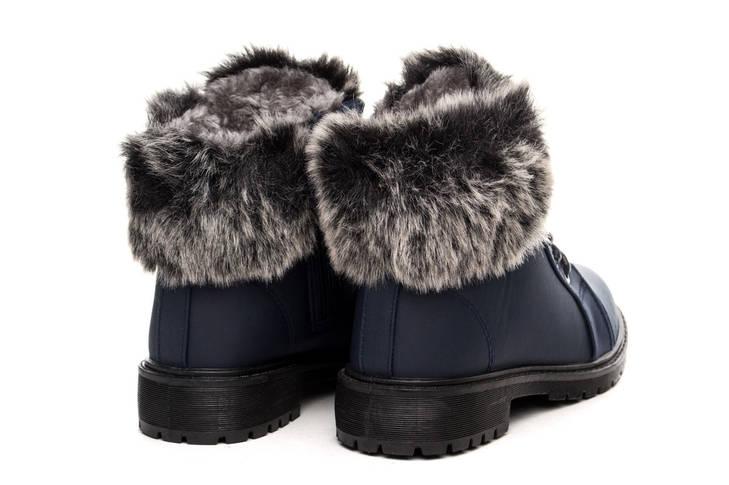 Ботинки женские Collection paris winter navy 37, фото 2