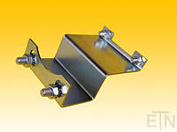 Адаптер для лубрикатора ETN-100 и ETN-120, включая монтажный материал, сталь толщиной 2 мм, оцинкованный «синий», ThyssenKrupp
