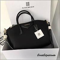 Cумка Givenchy Antigona, Живанши в черном цвете, Люкс копия