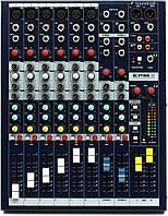 Soundcraft EPM6 микшерный пульт, 6 моно + 2 стерео канала