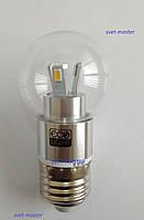 Светодиодная Led лампа Premium, 220 В, 4W Вт, E27, 4000K