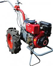 Мотоблок Мотор Сич МБ-6ДЕ с дизельным двигателем WIEMA WM178FE (электрический) Бесплатная доставка!