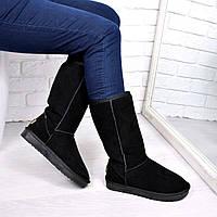 Угги женские UGG Высокие натуральная замша 3690 36 размер, зимняя обувь