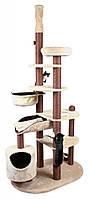 Когтеточка Trixie Nataniel для кошек, от пола до потолка 119х79/228-268 см