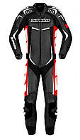 Комбинезон цельный Spidi Track Wind PRO черный-белый-красный, 48