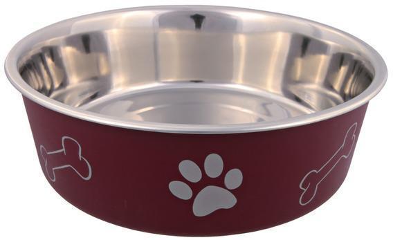 Trixiе (Трикси) Миска металлическая для собак, 0.75л/ø17см