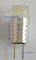 Светодиодная Led лампа Premium, 12 В, 1,5W Вт, G6.35, 6500K